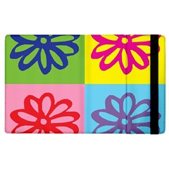 Flower Apple Ipad 3/4 Flip Case by Siebenhuehner