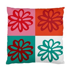 Flower Cushion Case (two Sided)  by Siebenhuehner