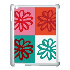 Flower Apple Ipad 3/4 Case (white) by Siebenhuehner
