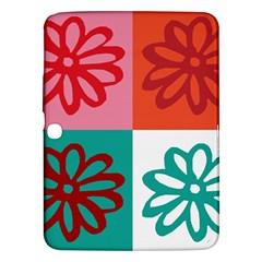 Flower Samsung Galaxy Tab 3 (10 1 ) P5200 Hardshell Case  by Siebenhuehner
