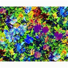 The Neon Garden Canvas 16  X 20  (unframed) by rokinronda