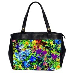 The Neon Garden Oversize Office Handbag (two Sides) by rokinronda