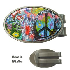 Prague Graffiti Money Clip (oval) by StuffOrSomething
