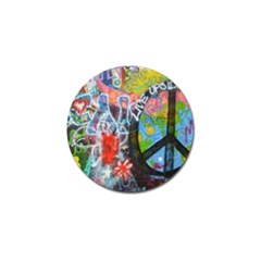 Prague Graffiti Golf Ball Marker 4 Pack by StuffOrSomething