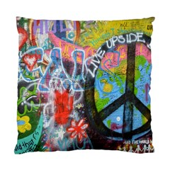 Prague Graffiti Cushion Case (two Sided)  by StuffOrSomething