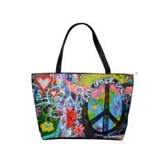 Prague Graffiti Large Shoulder Bag by StuffOrSomething