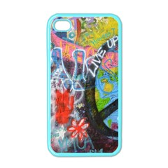 Prague Graffiti Apple Iphone 4 Case (color) by StuffOrSomething