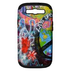 Prague Graffiti Samsung Galaxy S Iii Hardshell Case (pc+silicone) by StuffOrSomething