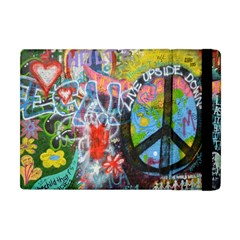 Prague Graffiti Apple iPad Mini Flip Case by StuffOrSomething