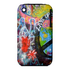 Prague Graffiti Apple Iphone 3g/3gs Hardshell Case (pc+silicone) by StuffOrSomething
