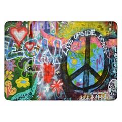 Prague Graffiti Samsung Galaxy Tab 8 9  P7300 Flip Case by StuffOrSomething