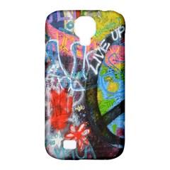 Prague Graffiti Samsung Galaxy S4 Classic Hardshell Case (pc+silicone) by StuffOrSomething