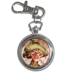 Happy Cowboy Watch 1 Key Chain Watch by nateowens
