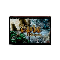 Tiny Epic Kingdoms   Game Bag By Rainer Ahlfors   Cosmetic Bag (medium)   Fizh5nd82s6o   Www Artscow Com Front