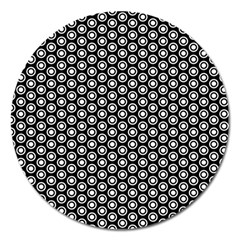 Groovy Circles Magnet 5  (round) by StuffOrSomething