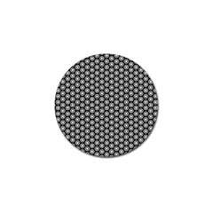 Groovy Circles Golf Ball Marker 4 Pack by StuffOrSomething