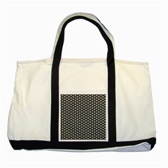 Groovy Circles Two Toned Tote Bag by StuffOrSomething
