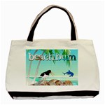 Beach Bum tote bag - Basic Tote Bag (Two Sides)