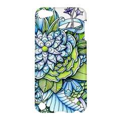 Peaceful Flower Garden Apple Ipod Touch 5 Hardshell Case by Zandiepants