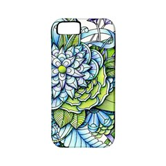 Peaceful Flower Garden Apple Iphone 5 Classic Hardshell Case (pc+silicone) by Zandiepants