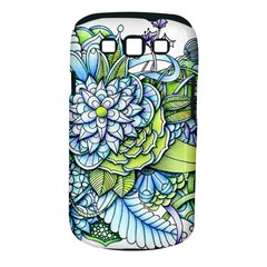 Peaceful Flower Garden Samsung Galaxy S Iii Classic Hardshell Case (pc+silicone) by Zandiepants