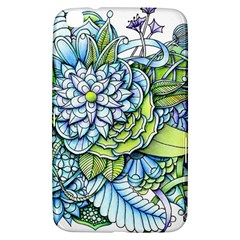 Peaceful Flower Garden Samsung Galaxy Tab 3 (8 ) T3100 Hardshell Case  by Zandiepants