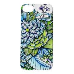 Peaceful Flower Garden Apple iPhone 5S Hardshell Case