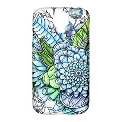 Peaceful Flower Garden 2 Samsung Galaxy S4 Classic Hardshell Case (pc+silicone) by Zandiepants