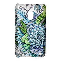 Peaceful Flower Garden 2 Nokia Lumia 620 Hardshell Case by Zandiepants