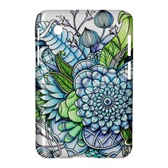 Peaceful Flower Garden 2 Samsung Galaxy Tab 2 (7 ) P3100 Hardshell Case  by Zandiepants
