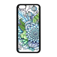 Peaceful Flower Garden 2 Apple Iphone 5c Seamless Case (black) by Zandiepants
