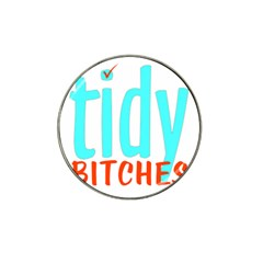 Tidy Bitcheslarge1 Fw Golf Ball Marker 10 Pack (for Hat Clip) by tidybitches