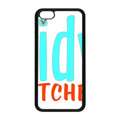 Tidy Bitcheslarge1 Fw Apple Iphone 5c Seamless Case (black) by tidybitches