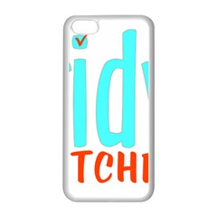 Tidy Bitcheslarge1 Fw Apple Iphone 5c Seamless Case (white) by tidybitches