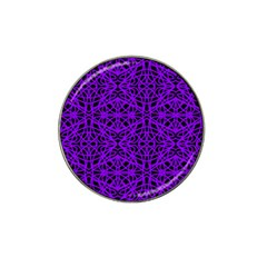 Black And Purple String Art Hat Clip Ball Marker (10 Pack) by Khoncepts