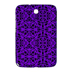 Black And Purple String Art Samsung Galaxy Note 8 0 N5100 Hardshell Case  by Khoncepts