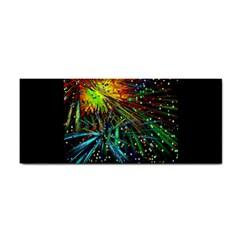 Exploding Fireworks Hand Towel by StuffOrSomething