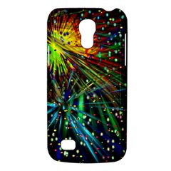 Exploding Fireworks Samsung Galaxy S4 Mini (gt I9190) Hardshell Case  by StuffOrSomething