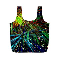 Exploding Fireworks Reusable Bag (m) by StuffOrSomething