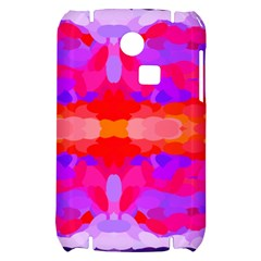 Purple, Pink And Orange Tie Dye  By Celeste Khoncepts Com Samsung S3350 Hardshell Case by Khoncepts