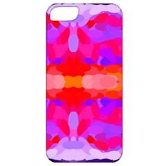 Purple, Pink And Orange Tie Dye  By Celeste Khoncepts Com Apple Iphone 5 Classic Hardshell Case by Khoncepts