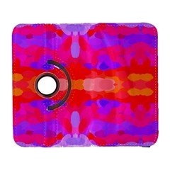 Purple, Pink And Orange Tie Dye  By Celeste Khoncepts Com Samsung Galaxy S  III Flip 360 Case by Khoncepts