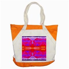 Purple, Pink And Orange Tie Dye  By Celeste Khoncepts Com Accent Tote Bag