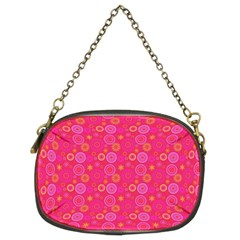 Psychedelic Kaleidoscope Chain Purse (two Sided)  by StuffOrSomething