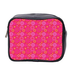 Psychedelic Kaleidoscope Mini Travel Toiletry Bag (two Sides) by StuffOrSomething