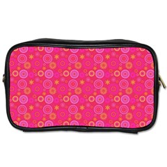 Psychedelic Kaleidoscope Travel Toiletry Bag (two Sides) by StuffOrSomething