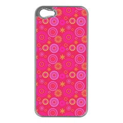 Psychedelic Kaleidoscope Apple Iphone 5 Case (silver) by StuffOrSomething