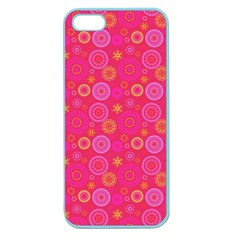 Psychedelic Kaleidoscope Apple Seamless Iphone 5 Case (color) by StuffOrSomething