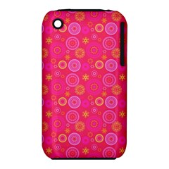 Psychedelic Kaleidoscope Apple Iphone 3g/3gs Hardshell Case (pc+silicone) by StuffOrSomething