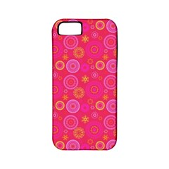 Psychedelic Kaleidoscope Apple Iphone 5 Classic Hardshell Case (pc+silicone) by StuffOrSomething